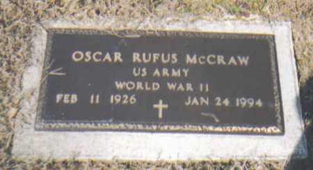 MCGRAW, OSCAR RUFUS - Adams County, Ohio | OSCAR RUFUS MCGRAW - Ohio Gravestone Photos