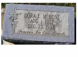 MCHONE, DORA E. - Adams County, Ohio | DORA E. MCHONE - Ohio Gravestone Photos