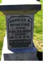 MCINTIRE, CHARLES R. - Adams County, Ohio | CHARLES R. MCINTIRE - Ohio Gravestone Photos