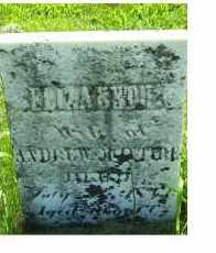 MCINTIRE, ELIZABETH - Adams County, Ohio | ELIZABETH MCINTIRE - Ohio Gravestone Photos