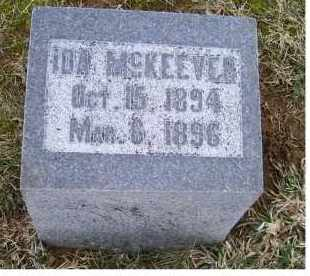 MCKEEVER, IDA - Adams County, Ohio | IDA MCKEEVER - Ohio Gravestone Photos