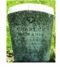 MCMANIS, CHARLES - Adams County, Ohio | CHARLES MCMANIS - Ohio Gravestone Photos