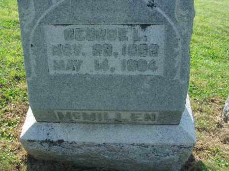 MCMILLEN, GEORGE L. - Adams County, Ohio | GEORGE L. MCMILLEN - Ohio Gravestone Photos