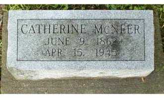 MCNEER, CATHERINE - Adams County, Ohio | CATHERINE MCNEER - Ohio Gravestone Photos