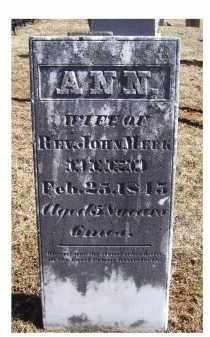 MEEK, ANN - Adams County, Ohio | ANN MEEK - Ohio Gravestone Photos
