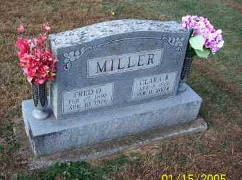 MILLER, CLARA - Adams County, Ohio | CLARA MILLER - Ohio Gravestone Photos