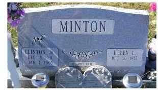 MINTON, CLINTON JR - Adams County, Ohio | CLINTON JR MINTON - Ohio Gravestone Photos