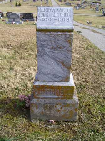 MITCHELL, NANCY A. - Adams County, Ohio | NANCY A. MITCHELL - Ohio Gravestone Photos