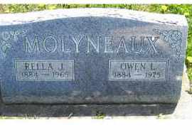 MOLYNEAUX, RELLA J. - Adams County, Ohio | RELLA J. MOLYNEAUX - Ohio Gravestone Photos