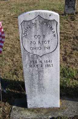 MOOMAW, JOHN N. - Adams County, Ohio | JOHN N. MOOMAW - Ohio Gravestone Photos