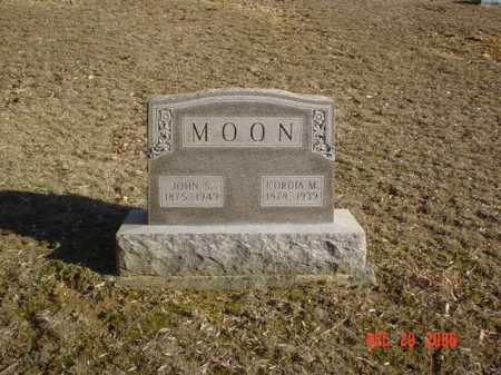 MOON, JOHN S. - Adams County, Ohio | JOHN S. MOON - Ohio Gravestone Photos