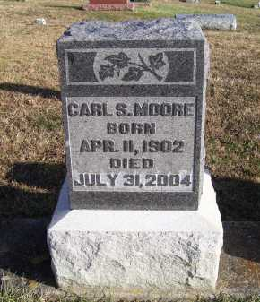 MOORE, CARL S. - Adams County, Ohio | CARL S. MOORE - Ohio Gravestone Photos