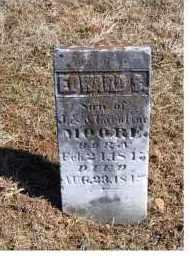 MOORE, EDWARD S. - Adams County, Ohio   EDWARD S. MOORE - Ohio Gravestone Photos