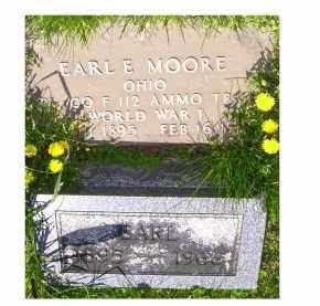 MOORE, EARL E. - Adams County, Ohio | EARL E. MOORE - Ohio Gravestone Photos