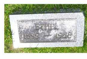 MOORE, ETHEL - Adams County, Ohio | ETHEL MOORE - Ohio Gravestone Photos