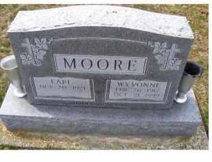 MOORE, WYVONNE - Adams County, Ohio | WYVONNE MOORE - Ohio Gravestone Photos