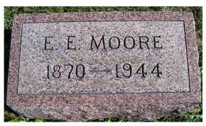 MOORE, E. E. - Adams County, Ohio | E. E. MOORE - Ohio Gravestone Photos