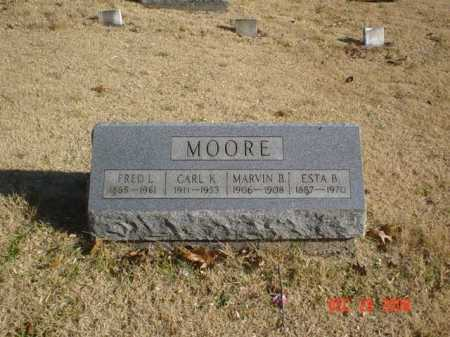 MOORE, ESTA B. - Adams County, Ohio | ESTA B. MOORE - Ohio Gravestone Photos