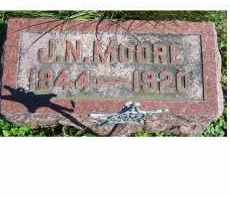 MOORE, J.N. - Adams County, Ohio | J.N. MOORE - Ohio Gravestone Photos