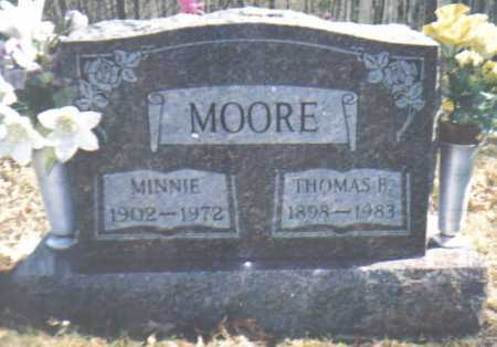 MOORE, MINNIE - Adams County, Ohio | MINNIE MOORE - Ohio Gravestone Photos