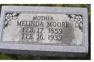 MOORE, MELINDA - Adams County, Ohio | MELINDA MOORE - Ohio Gravestone Photos