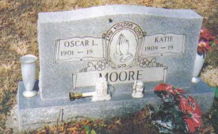 MOORE, OSCAR L. - Adams County, Ohio | OSCAR L. MOORE - Ohio Gravestone Photos