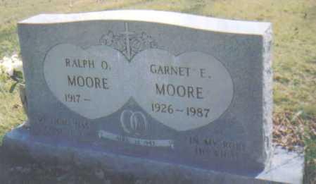 MOORE, GARNET E. - Adams County, Ohio | GARNET E. MOORE - Ohio Gravestone Photos