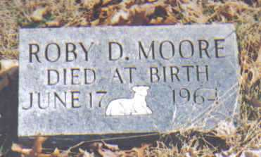 MOORE, ROBY D. - Adams County, Ohio | ROBY D. MOORE - Ohio Gravestone Photos