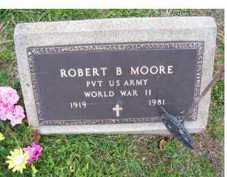 MOORE, ROBERT B. - Adams County, Ohio | ROBERT B. MOORE - Ohio Gravestone Photos