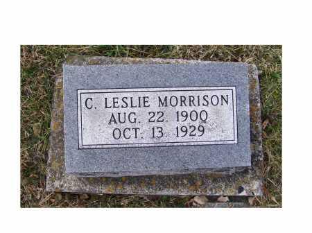 MORRISON, C. LESLIE - Adams County, Ohio | C. LESLIE MORRISON - Ohio Gravestone Photos