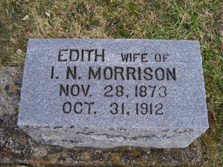 MORRISON, EDITH - Adams County, Ohio | EDITH MORRISON - Ohio Gravestone Photos