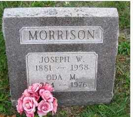 MORRISON, JOSEPH W. - Adams County, Ohio | JOSEPH W. MORRISON - Ohio Gravestone Photos