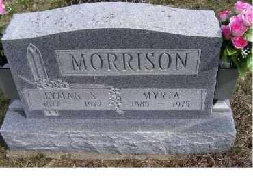 MORRISON, MYRTA - Adams County, Ohio | MYRTA MORRISON - Ohio Gravestone Photos