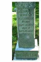 MORRISON, SUSANA F.? - Adams County, Ohio | SUSANA F.? MORRISON - Ohio Gravestone Photos