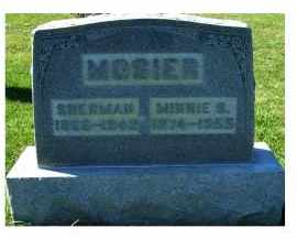 MOSIER, SHERMAN - Adams County, Ohio | SHERMAN MOSIER - Ohio Gravestone Photos