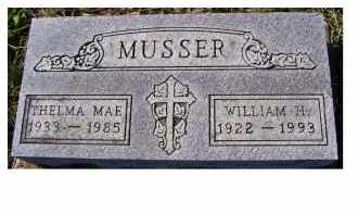 MUSSER, THELMA MAE - Adams County, Ohio | THELMA MAE MUSSER - Ohio Gravestone Photos