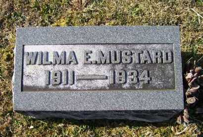 MUSTARD, WILMA E. - Adams County, Ohio | WILMA E. MUSTARD - Ohio Gravestone Photos