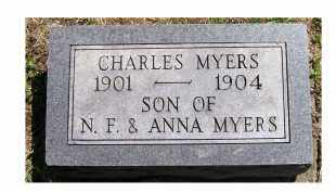 MYERS, CHARLES - Adams County, Ohio | CHARLES MYERS - Ohio Gravestone Photos