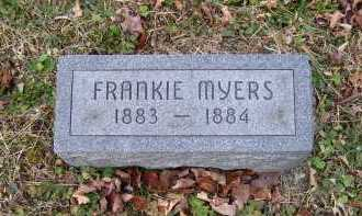 MYERS, FRANKIE - Adams County, Ohio | FRANKIE MYERS - Ohio Gravestone Photos
