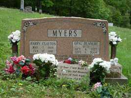MYERS, HARRY - Adams County, Ohio | HARRY MYERS - Ohio Gravestone Photos