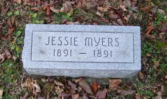 MYERS, JESSIE - Adams County, Ohio | JESSIE MYERS - Ohio Gravestone Photos