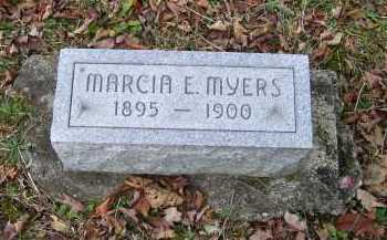 MYERS, MARCIA E. - Adams County, Ohio | MARCIA E. MYERS - Ohio Gravestone Photos