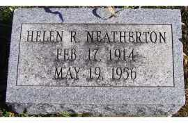 NEATHERTON, HELEN R. - Adams County, Ohio | HELEN R. NEATHERTON - Ohio Gravestone Photos