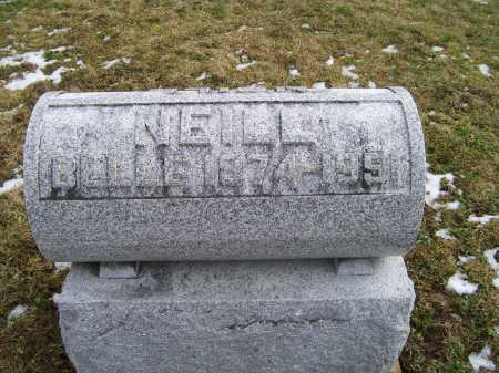 NEILL, BELLE - Adams County, Ohio | BELLE NEILL - Ohio Gravestone Photos