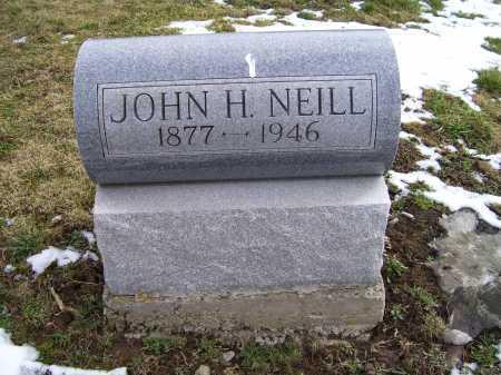 NEILL, JOHN H. - Adams County, Ohio | JOHN H. NEILL - Ohio Gravestone Photos