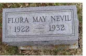 NEVIL, FLORA MAY - Adams County, Ohio | FLORA MAY NEVIL - Ohio Gravestone Photos