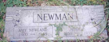 NEWMAN, JOHN - Adams County, Ohio | JOHN NEWMAN - Ohio Gravestone Photos