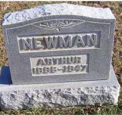 NEWMAN, ARTHUR - Adams County, Ohio | ARTHUR NEWMAN - Ohio Gravestone Photos