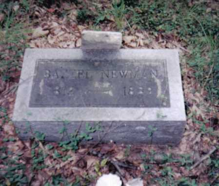 NEWMAN, BAZZEL - Adams County, Ohio | BAZZEL NEWMAN - Ohio Gravestone Photos