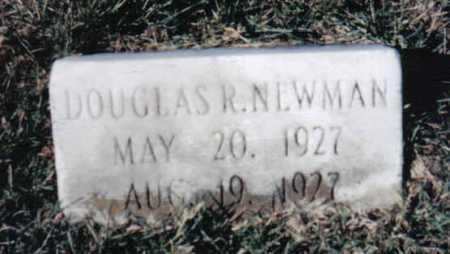 NEWMAN, DOUGLAS R. - Adams County, Ohio | DOUGLAS R. NEWMAN - Ohio Gravestone Photos